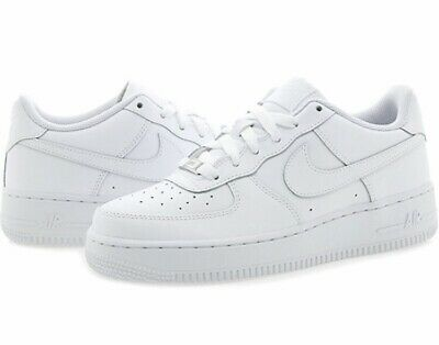 BLACK//BLACK YOUTH SIZE SHOE 306291-001 NIKE AIR FORCE 1 LOW GS