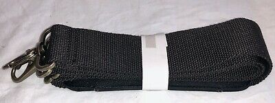 """Replacement Strap for Luggage or Briefcase 2"""" x 46"""" Nylon w/Leather Pad   BD0497"""
