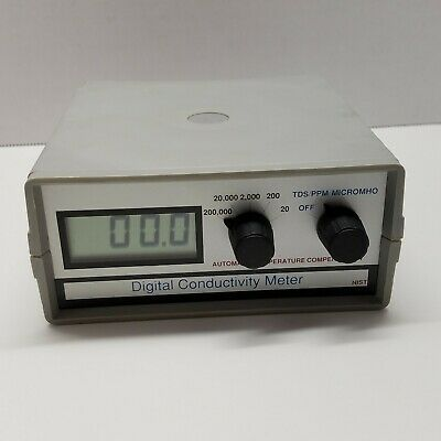 Control Company Digital Conductivity Meter 99215378 NIST Traceable Made in UK
