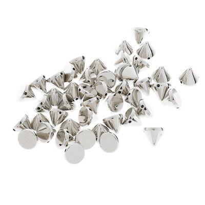 1 Pack Cone Spike CCB Style Rivet Beads DIY Finding for DIY Jewelry Making 10mm