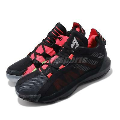 EH2791 adidas Dame 6 Kids Ruthless Youth Black Boys Basketball Shoes 2019