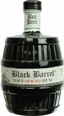A.H. Riise Black Barrel Navy Spiced Rum 40% 0,7l