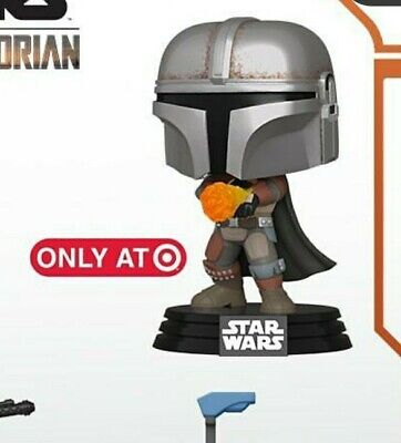 Funko - Mandalorian with Flamethrower Target Exclusive Preorder! + protector!
