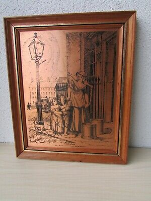 Coppercraft Copper Etchings Wall Plaque - London Cries - 'Milk Maid' Lc2.