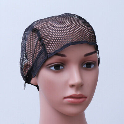 Unisex Stretch Weaving Snood Wig Cap Lining Mesh Hair Nets Hairnet Snood Cosplay