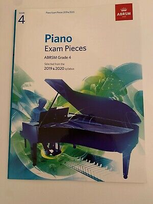 ABRSM Piano Exam Pieces 2019 2020 Syllabus Grade 4 Sheet Music Book Tests Songs