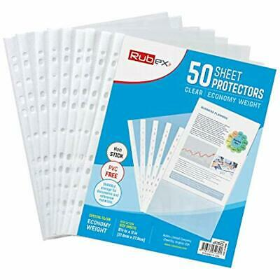 Sheet Protectors, Protectors Card & Photo Sleeves Holds 8.5 X 11 Inch Sheets,