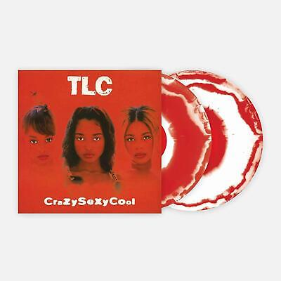 CrazySexyCool TLC - Exclusive VMP Club Edition Red & White Colored 2x Vinyl LP