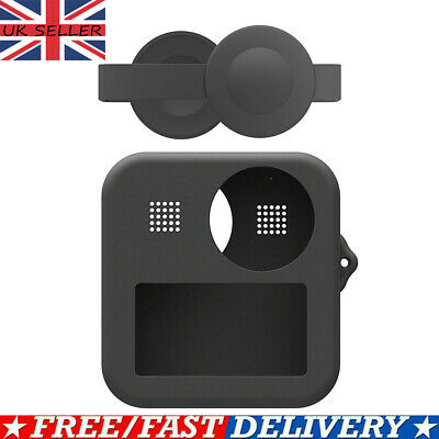 PULUZ Housing Shell Case Cover CNC Protective Cage For GoPro Max Lens Cap IM