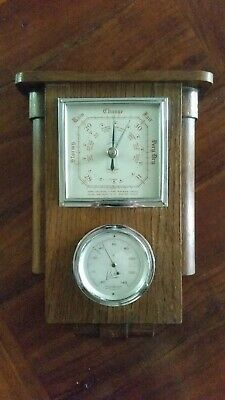 Art Deco BAROMETER Humidity Thermometer