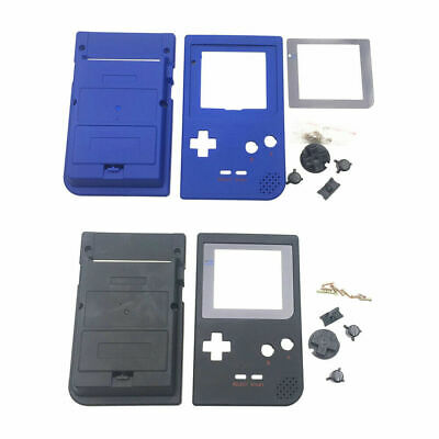 Replacement Full Housing Shell for Gameboy Pocket GBP Console,with Button/Lens