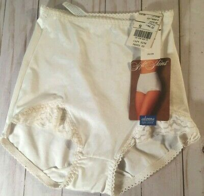 NWT Soft Skins Nylon JcPenney Adonna #3198 light control white panties small