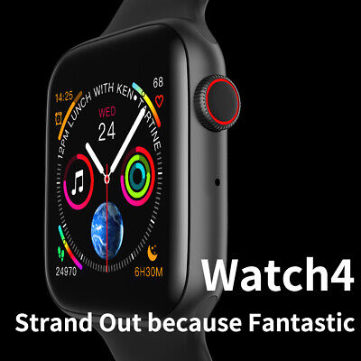 W4 Smart Watch Series 4 Style Bluetooth 44mm Heart Rate Monitor For IOS Android