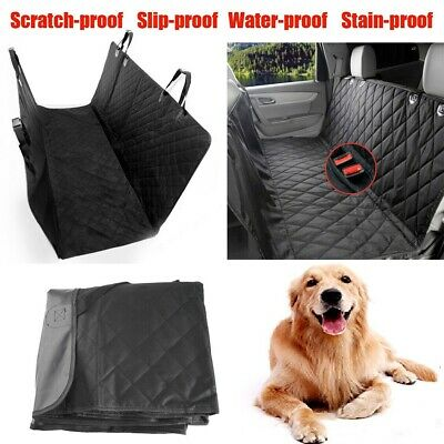 Pet Car Dog Seat Cover For Back Seat 100% Waterproof Nonslip Protector Travel
