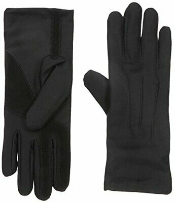 Isotoner Women's Spandex Cold Weather Stretch Gloves with (One Size|Black)