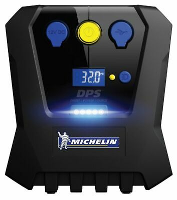 Michelin Programmable Fast Flow High Power Tyre Inflator | 12V Display | 12655