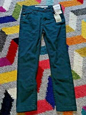 BNWT DENIM CO PETROL BLUE SKINNY JEANS - Age 7 / 8 Years