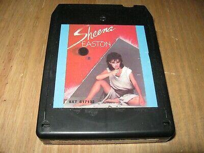 ** 1984 8 Track Cartridge CRC - My Private Heaven by Sheena Easton **