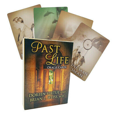 44Pcs Past Life Purpose Oracle Tarot Deck Cards by Doreen Virtue Party Game New