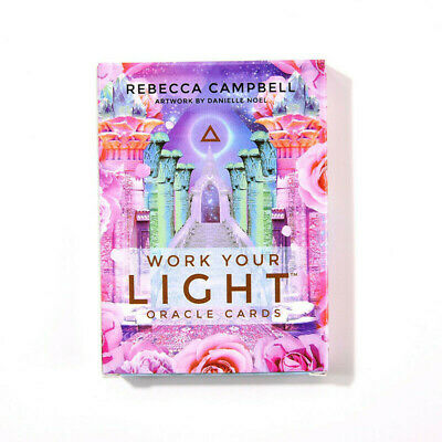 44Pcs Work Your Light Oracle Cards By Rebecca Campbell Tarot Decks Game Card New