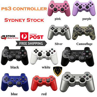 Wireless Bluetooth Game Controller Dual Vibration Gamepad For PS3 & ps4