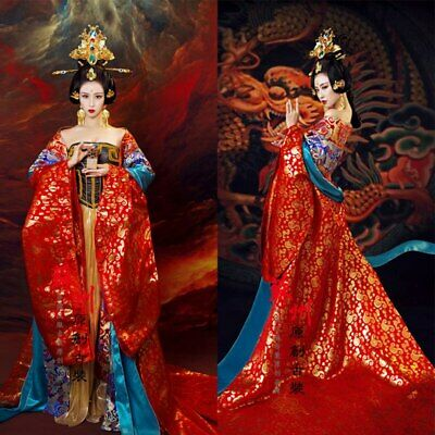 Exhibition Empress Drama Traditional Costume Embroidery Oriental Chinese Elegant