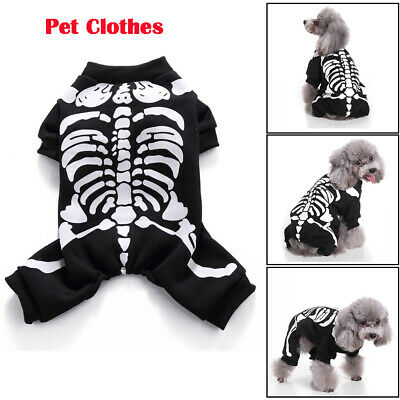 Pet Puppy Dog Cat Funny Cosplay Clothes Party Costume Fancy Dresses Jumper Coat