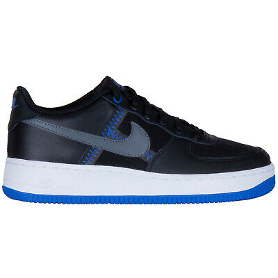 Nike Air Force 1 Lv8 Leather Textile Low-top Lace-up Sneakers Youth Trainers