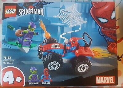 LEGO 76133 Super Heroes Spider-man Car Chase Set Brand new in box Unopened