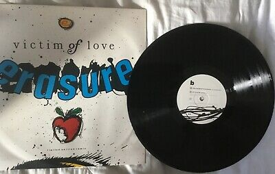 "Erasure : Victim Of Love 12 Inch Re-Mix Limited Edition 12"" Vinyl uk seller"