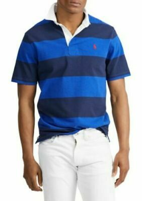 NWT Polo Ralph Lauren Mens iconic CLASSIC SHORT SLEEVE RUGBY POLO SHIRT xL