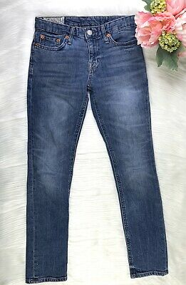 Ralph Lauren Polo Boys Denim Skinny Jeans Size 10
