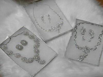 Wholesale Wedding Jewelry Lot Bridal Necklace Sets