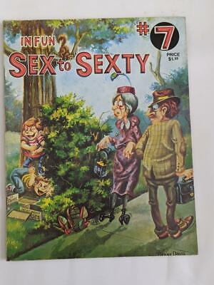 Sex to Sexty #7 ( Australia) In Fun 1973 - Adult Bawdy Cartoons /Humour