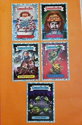 2019 Garbage Pail Kids Revenge Of Oh The Horrorible Blue Lot Of 5 Cards GPK