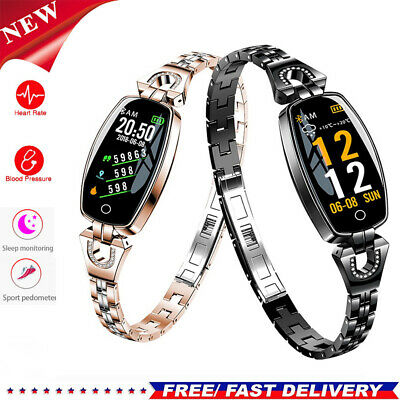 H8 Lady Fashion Smart Watch Metal Watch Heart Rate Blood Pressure Oxygen Detect