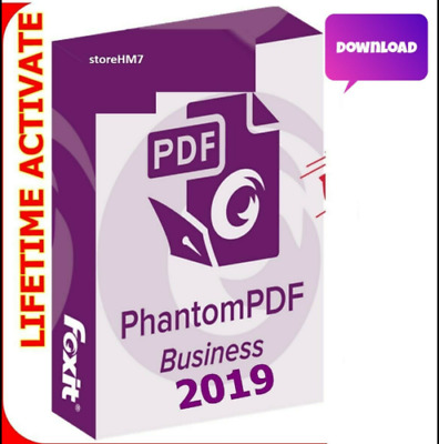 Foxit Phantom PDF Business 9.4.1 Lifetime 2019 100% Genuine Link FAST DELIVERY