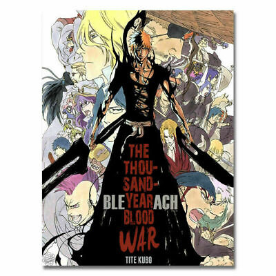 250162 Hot Bleach Dead Rukia Ichigo Anime Comic Japan WALL PRINT POSTER AU