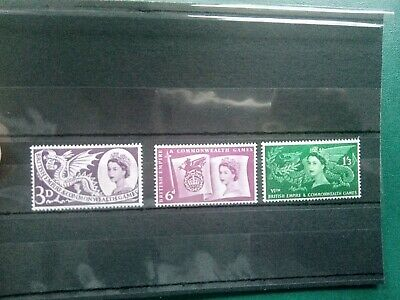 Gb Mnh 1958 -   British Empire & Commonwealth Games -  Stamps