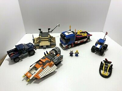 LEGO Partials LOT C:  31085 stunt show, shield truck, galaxy squad, technic