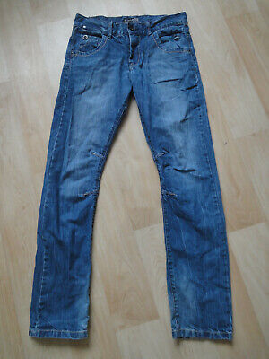 Here&there Jungen Tech-Mix-Series Jeans Gr 164 Jeans Hose