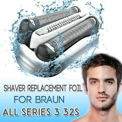 Shaver Foil Head Replacement for Braun 21B 32B 32S Series 3 5776 5415 5772 3040c