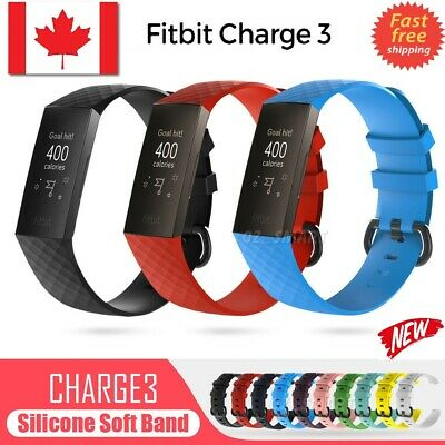 Wrist Band straps Durable Bracelet Accessories for Fitbit Charge 3/4 strap belt