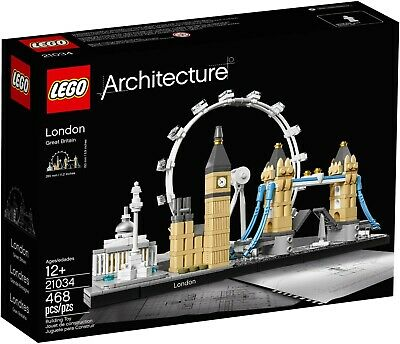 New Lego Architecture 21034 London Skyline Great Britain  Age 12+  Free Shipping