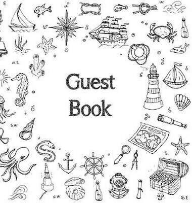 Guest Book, Visitors Book, Guests Comments, Vacation Home Guest Book, Beach Hous