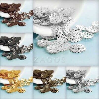20g 307-466Stk Flower End Spacer Perles Charm Bouchons DIY Bijoux 1.5x8.5mm