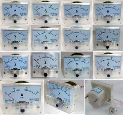AC 300V Analog Panel Voltmeter Volt Voltage Meter Gauge 85L1 Class 2.5 AC IC