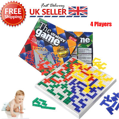 For The Strategy Board Game Blokus Educational Toys Family Children Party Funny