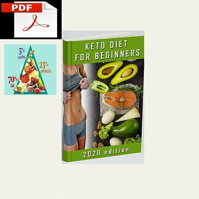 Keto Diet Cookbook For Beginners 2020 The Complete Guide to Ketogenic [E--B00K]