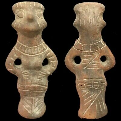 Ultra Rare Huge Stone Age Ancient Neolithic Anthromorphic Vinca Idol 4500BC (5)